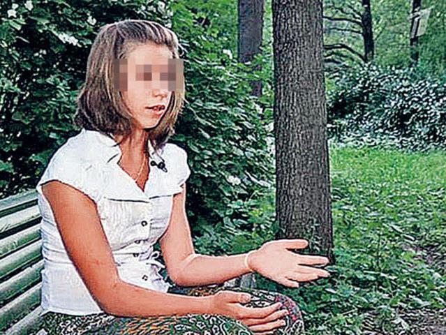 Мужик насилует очень юную девочку