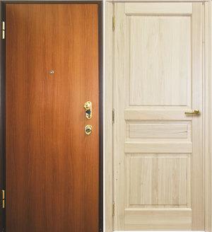 Оклейка пленкой дверей